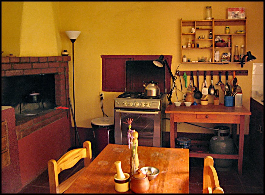 Kitchen at Casa Wilkamayo