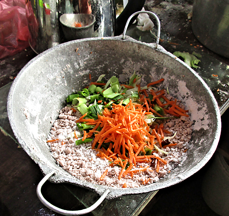 Pittu mix with Vegetables