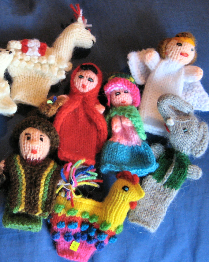 Finger Puppets from Chucuito