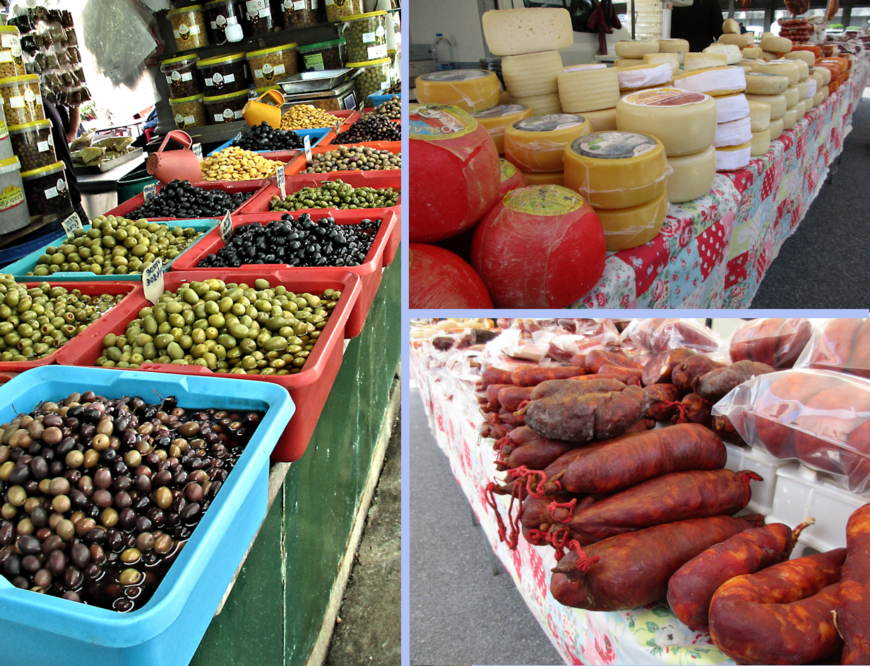 Montage of Farmers' Markets