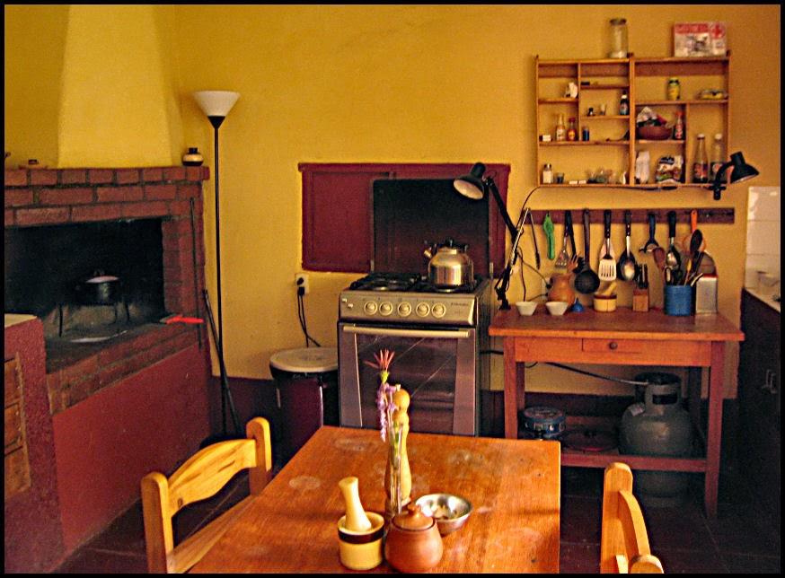 Kitchen at Casa Wilkamayo