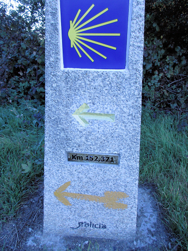 Camino Distance Marker