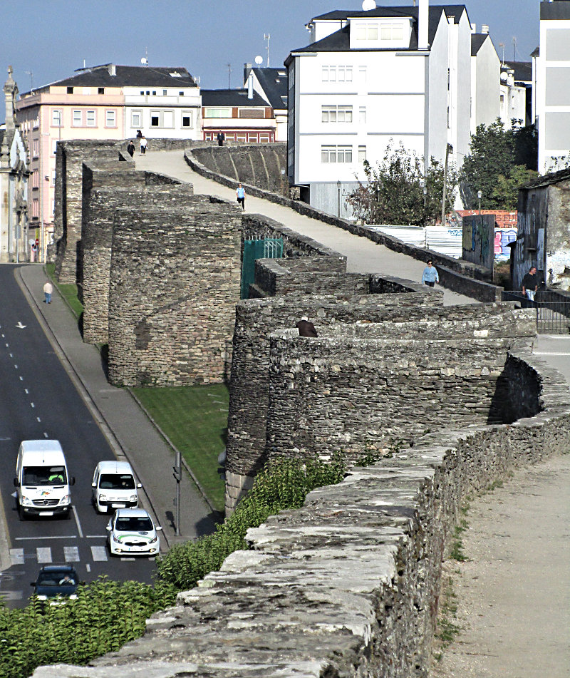 Roman Wall around the city of Lugo