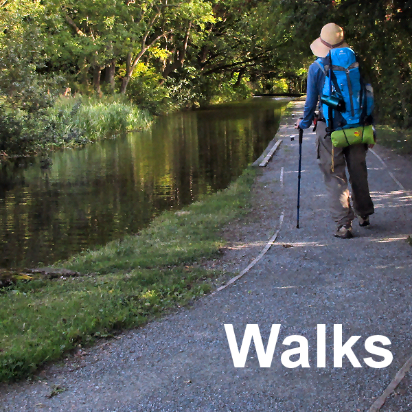 Canal Walking--Wales