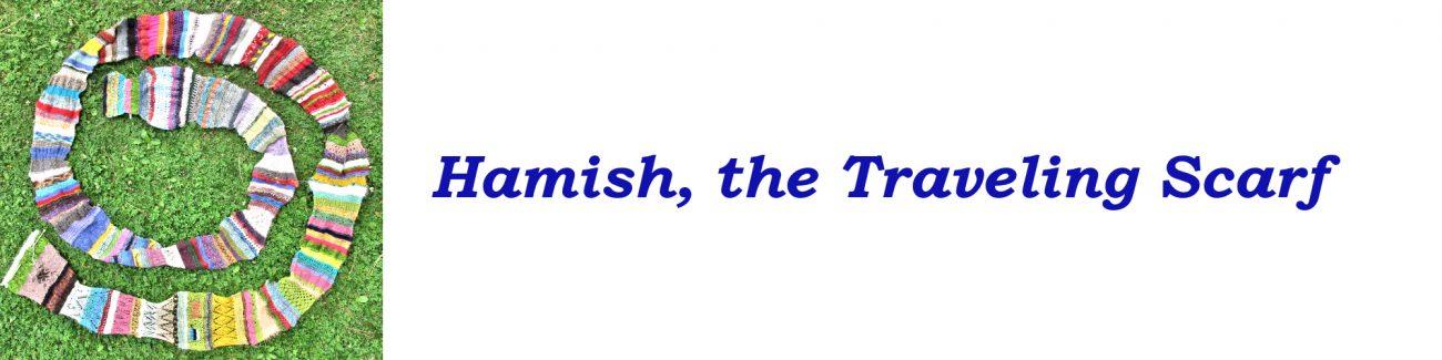 Workshop title: Hamish the Traveling Scarf