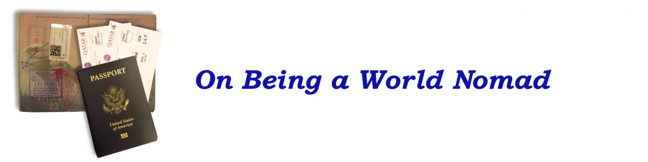 Workshop title: On Being A World Nomad